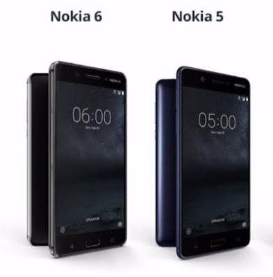 Nokia 6 vs Nokia 5 : Snapdragon 430 SoC , 3000mAh Battery