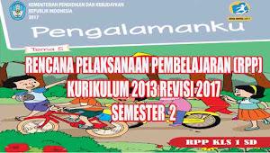 Rpp Tematik Kelas 1 SD Tema 5 Semester 2 K13 Revisi 2017
