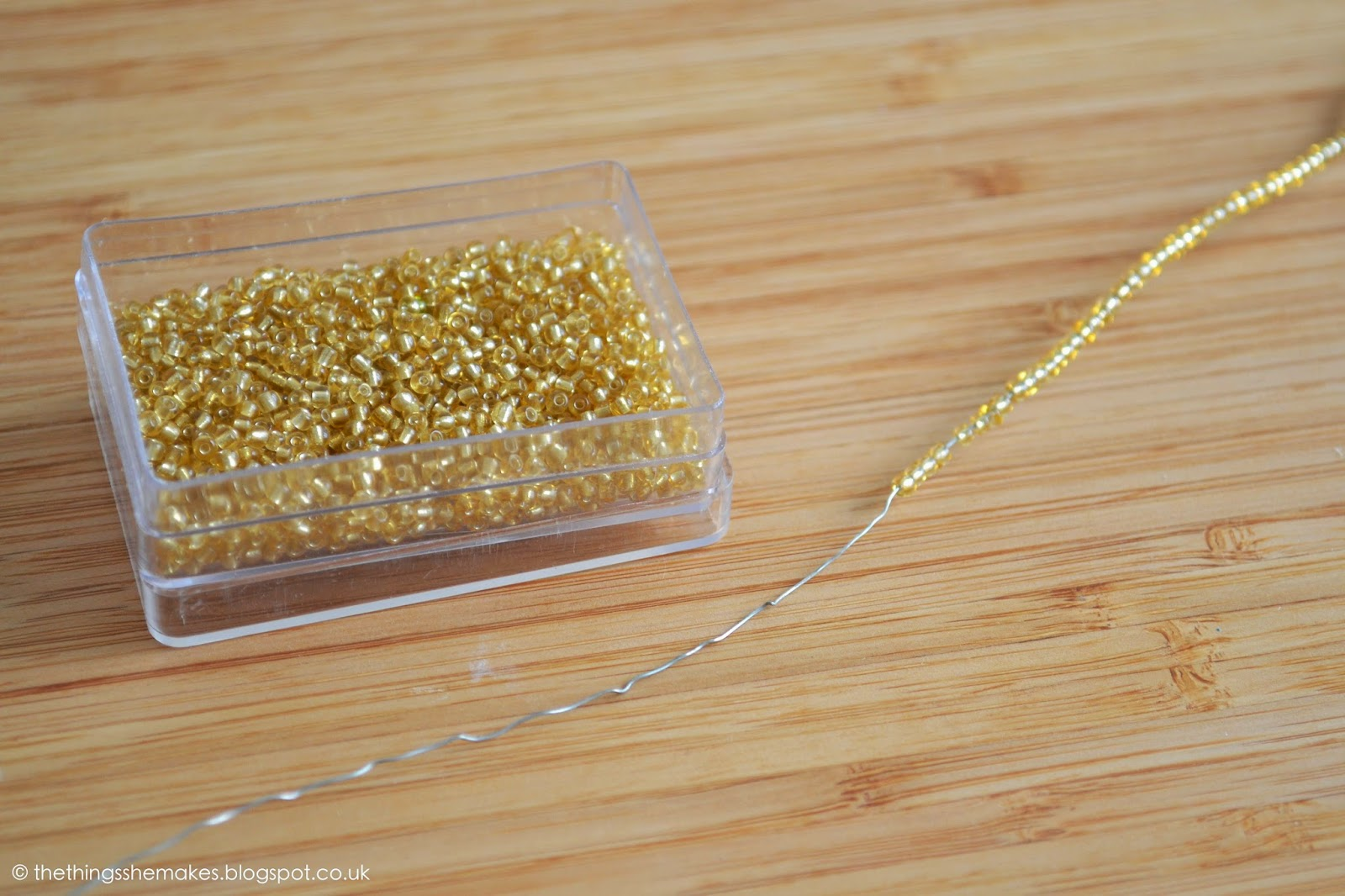 How to Make a Plaited Bead Necklace | The Things She Makes