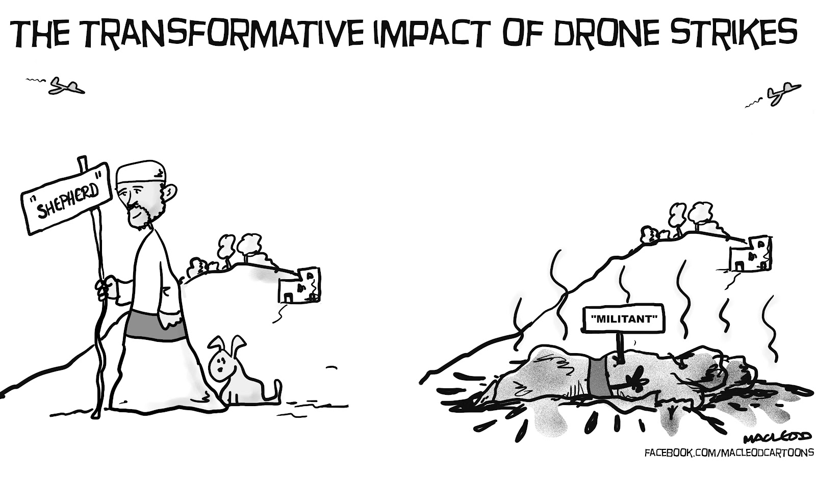 Macleod Cartoons Drone Strikes