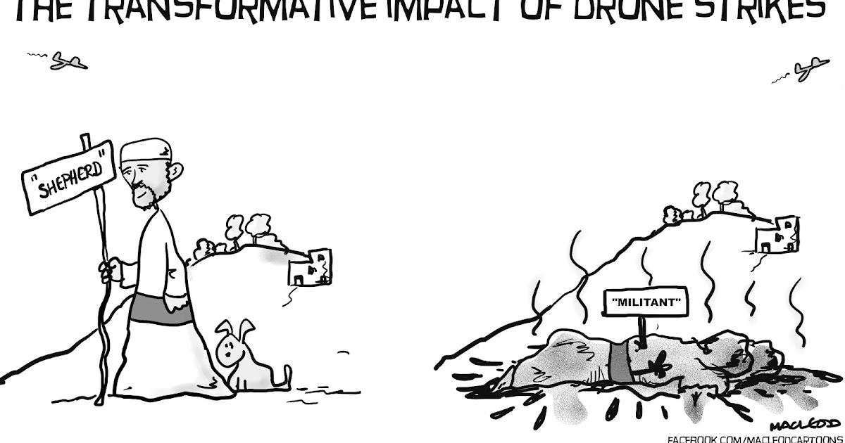 MacLeod Cartoons: Drone Strikes
