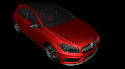 MB - A45 AMG + RONCO - DOWNLOAD