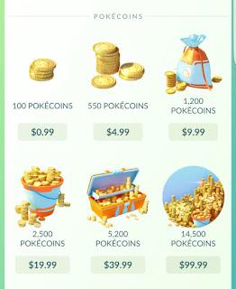 pokecoins gratis