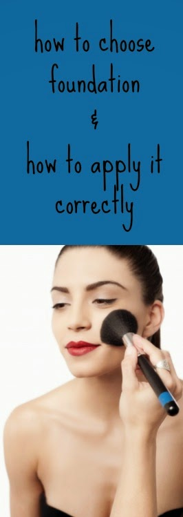 How to use foundation makeup.