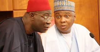 Bukola Saraki and Ike Ekweremadu