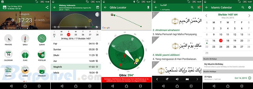 Aplikasi Android Pendukung selama di Bulan Ramadhan