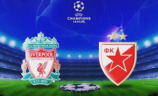 ماتش ليفربول و النجم الأحمر بث مباشر