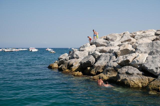 Costiera Amalfitana, tuffi dagli scogli