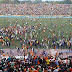DR Congo league club relegated to 2nd division for fan violence
