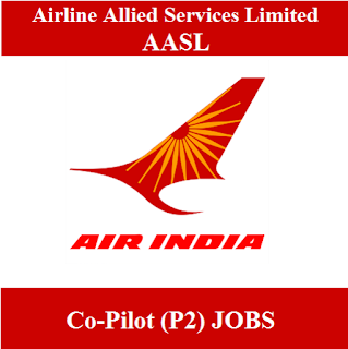 Airline Allied Services Limited, AASL, Alliance Air, Air India Limited, Air India, Co-Pilot, 12th, freejobalert, Sarkari Naukri, Latest Jobs, aasl logo