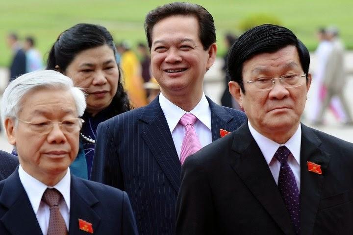 Nguyễn Tấn Dũng - Một hình ảnh độc tôn