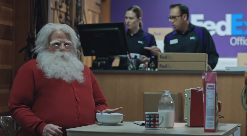 "See Santa Get Busted In The New FedEx Commercial ""North Pole"""