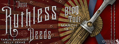 These Ruthless Deeds  Blog Tour banner