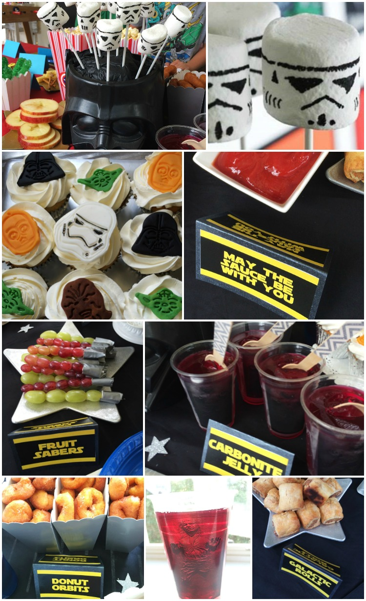 Star Wars Themed Party Food