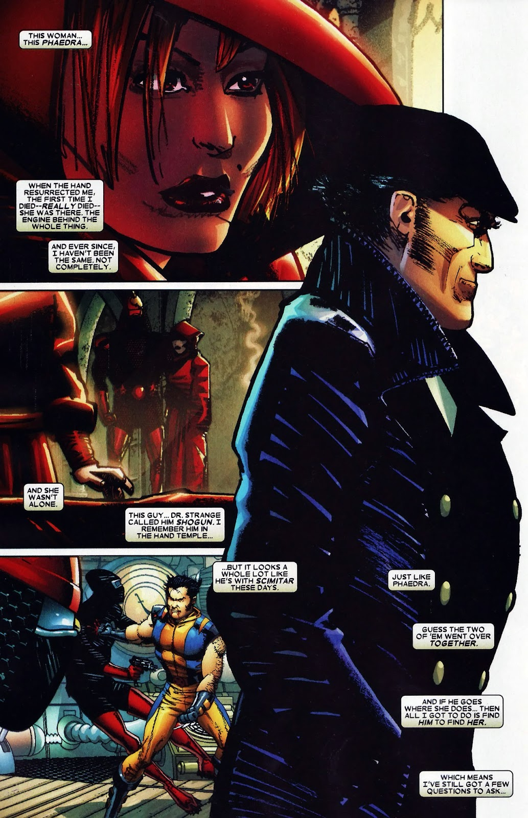 Read online Wolverine (2003) comic -  Issue #60 - 13