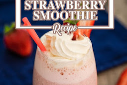 Keto Strawberry Smoothie - Low Carb Thick & Tasty - Easy to Make