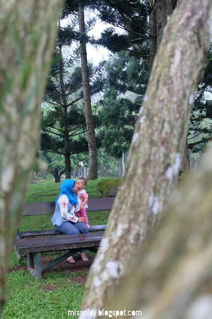 photoshoot di taman bunga