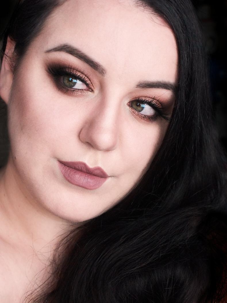 Makijaż krok po kroku - Jesienny smokey eye paletą PÜR Cosmetics Soiree Diaries