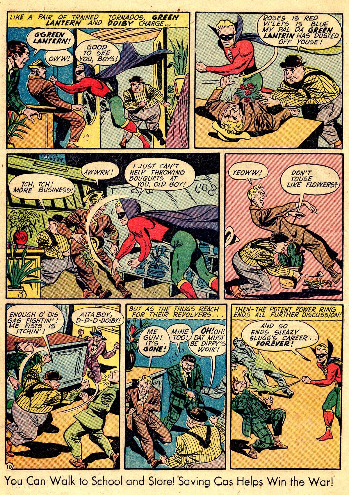 Read online All-American Comics (1939) comic -  Issue #60 - 12
