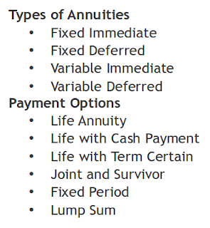Annuities are sometimes used to manage income cashflow