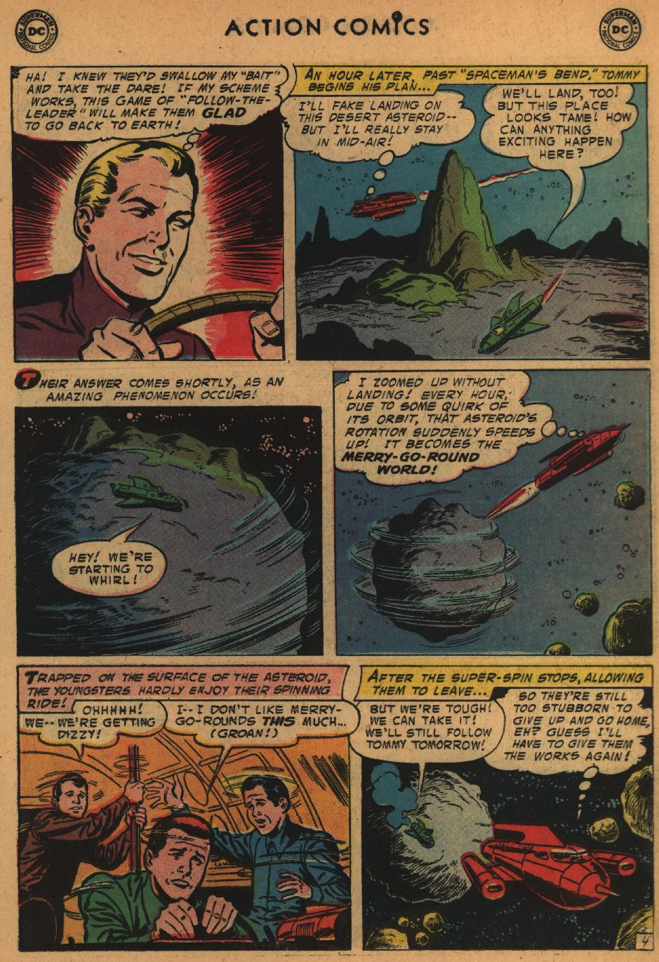 Read online Action Comics (1938) comic -  Issue #235 - 23