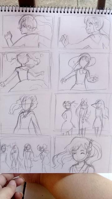 sketches de fotogramas