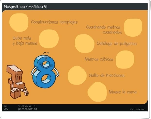 """""""Matemáticas Simpáticas VI"""" (Juegos de 6º de Primaria)"""