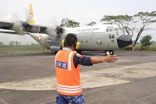 Hercules  A-1316 TNI AU