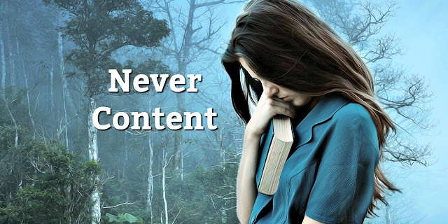 Contentment is important, but there's one area where Christians shouldn't be content. #BibleLoveNotes #Bible