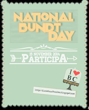 National Bundt Cake 15/11/ 2014