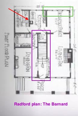 radford barnard floor plan first floor central staircase