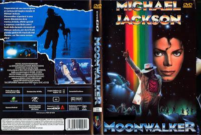 Filme Michael Jackson Moonwalker DVD Capa
