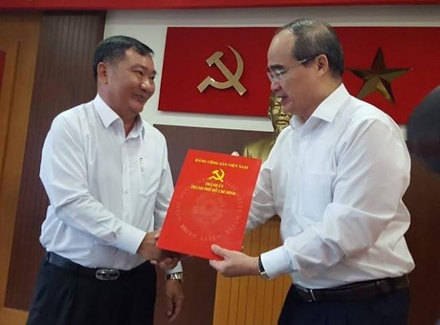 Phó ban Nội chính TP.HCM được bầu làm Bí thư quận 2, thay ông Nguyễn Hoài Nam vừa bị bắt ảnh 2
