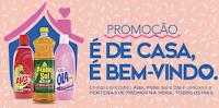 Promoção É de casa, é bem-vindo Pinho Sol, Ajax e Olá promocaocuidadodacasa.com.br