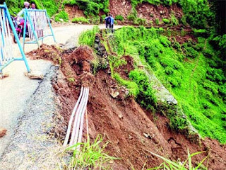 underground mobile telecom cables in darjeeling hills