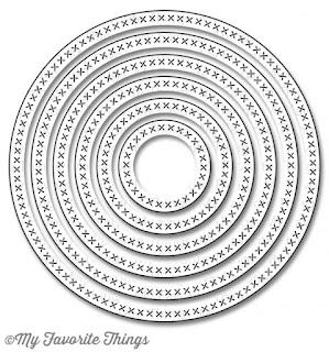 Die-namics Cross Stitched Circle STAX