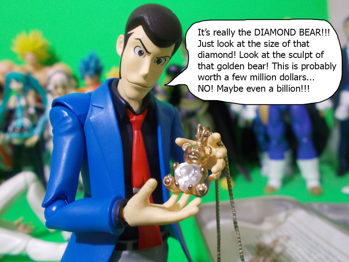 figuarts - Fujiko and the Diamond Bear 50-billion
