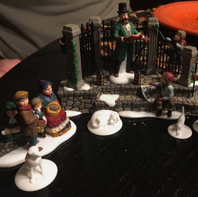 3D Printed dogs and cat for Dept 56 Dickens Village