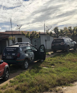 POLÍCIA CIVIL CUMPRE MANDADO DE PRISÃO E APREENDE VASTO MATARIAL NO COMBATE AO CRIME DE PEDOFILIA EM SANTA QUITÉRIA