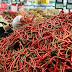 Harga Cabai Merah di Pasar Tradisional Lebak Melonjak Rp70.000 Per Kg