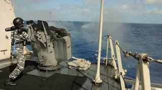 Uji Tembak Kanon Vektor G12 20 MM