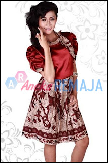 Model Baju Batik Kantor Modern Aneka Remaja Black Models Picture