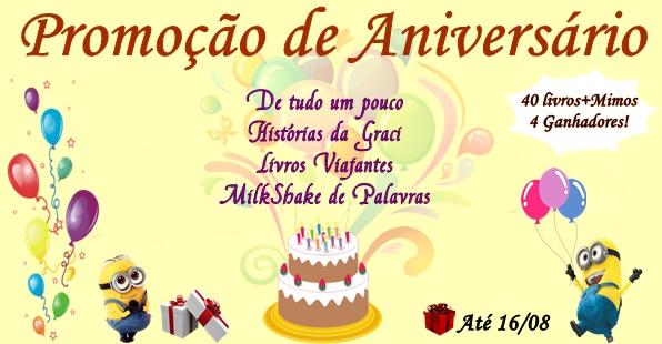 Banner Feliz Aniversario: De Tudo Um Pouco : Promoção De Aniversário