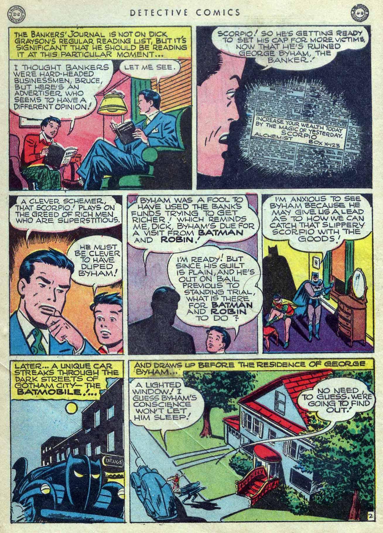 Detective Comics (1937) 107 Page 3