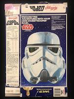 Kellogg's C-3PO's Cereal Box Stormtrooper  Mask