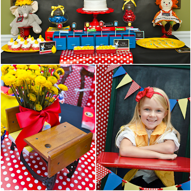 Back to School | Junie B. Jones Inspired Party