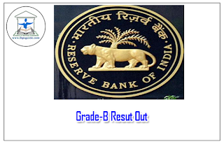 RBI Grade-B Result Out 2016: