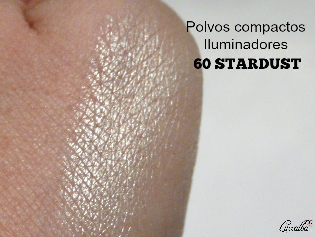 Swatch  polvos compactos iluminadores Stardust de Belle & Make Up