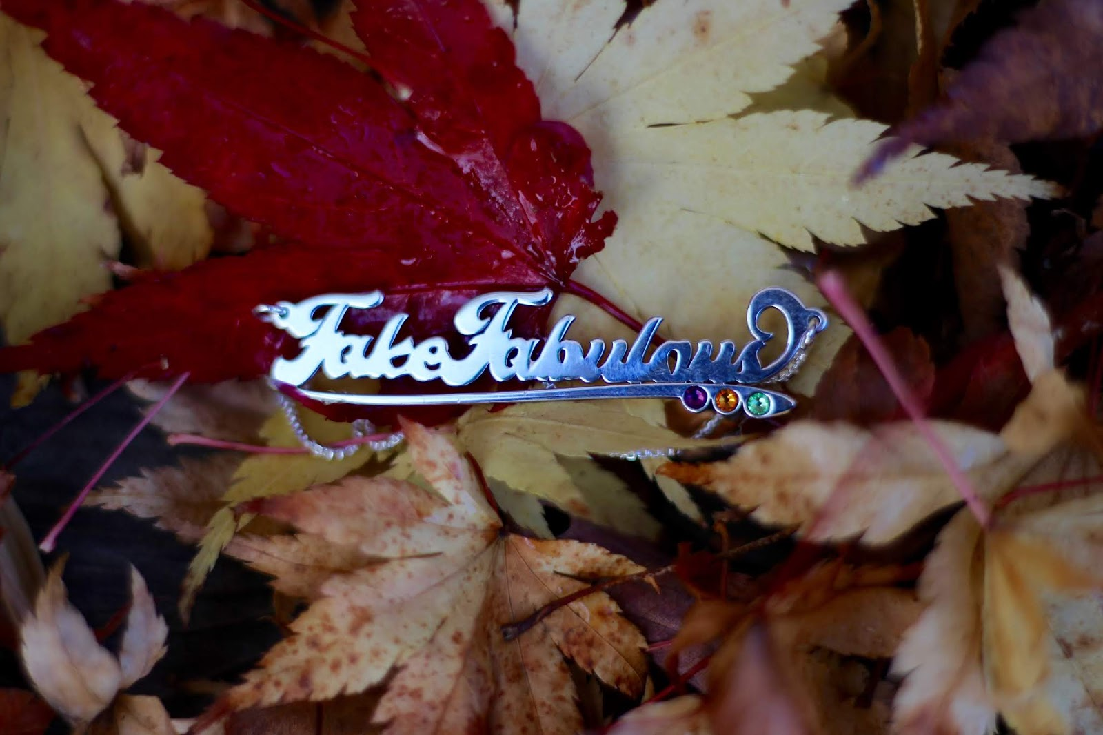 Messages in Metal Name Necklace | Fake Fabulous