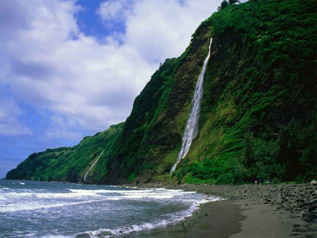 Pulau Waipio Valley, Hawaii